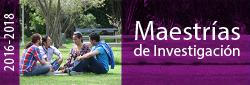 Maestrías 2016-2018