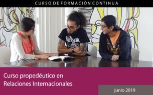 Curso propedéutico en Relaciones Internacionales