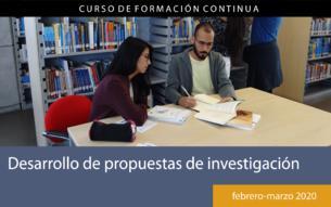 Desarrollo de propuestas de investigación