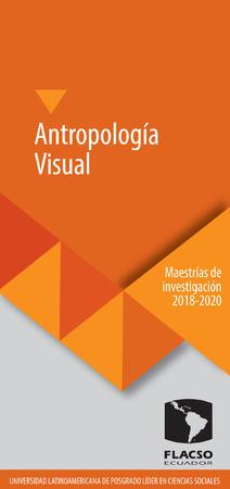Antropología Visual 2018-2020