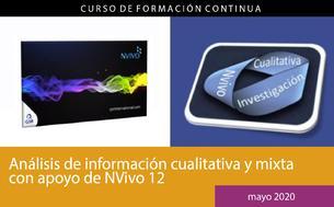 Análisis de información cualitativa y mixta con apoyo de NVivo 12