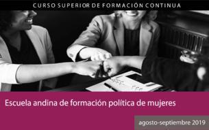 Escuela Andina de Formación Política de Mujeres