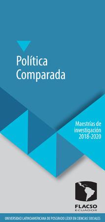 Política Comparada 2018-2020