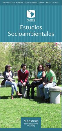 Estudios Socioambientales 2017-2019