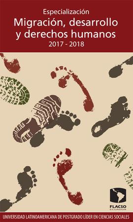 Migración desarrollo y derechos humanos 2017-2018