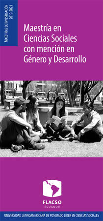 Género y desarrollo 2019-2021