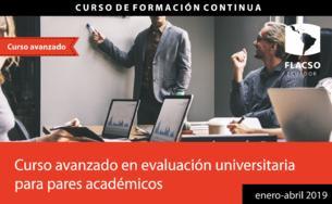 Curso avanzado Evaluación, acreditación y aseguramiento de la calidad de la educación superior de Ecuador