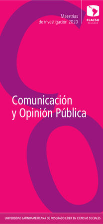 Communication and Public Opinion 2020