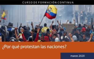 ¿Por qué protestan las naciones?