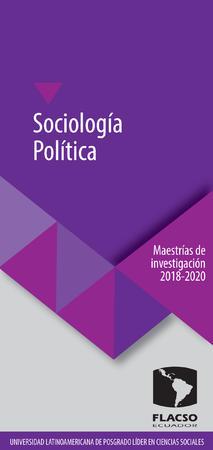 Sociología Política 2018-2020