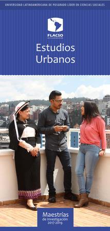 Estudios Urbanos 2017-2019