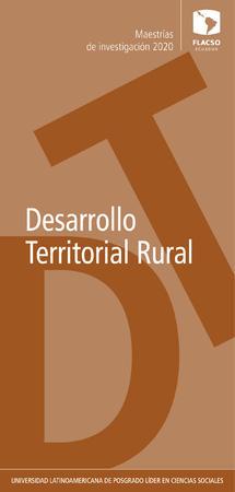 Rural Territorial Development 2020