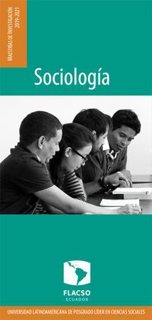 Sociology 2019-2021