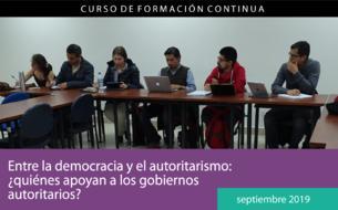 Entre la democracia y el autoritarismo: ¿quiénes apoyan a los gobiernos autoritarios?