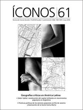 Íconos No. 61. Geografías críticas en América Latina