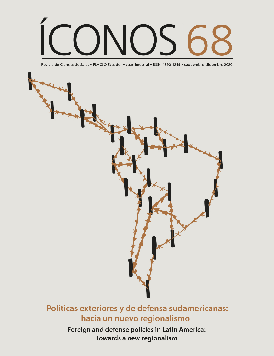 Íconos No. 68. Políticas exteriores y de defensa sudamericanas: hacia un nuevo regionalismo