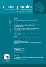 Mundos plurales Volumen 2, No. 2. Revista Latinoamericana de Políticas y Acción Pública