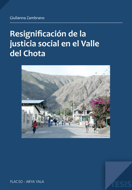 Resignificación de la justicia social en el valle del Chota