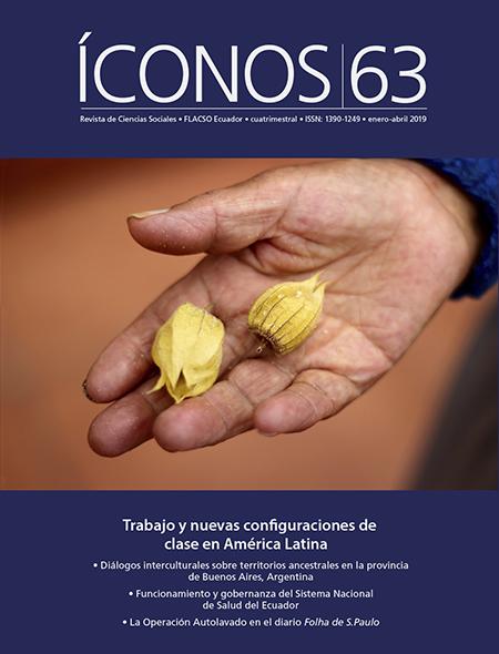 Íconos No. 63. Trabajo y nuevas configuraciones de clase en América Latina