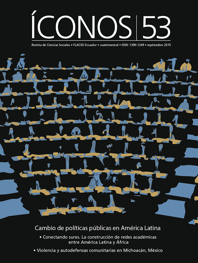 Íconos. Revista de Ciencias Sociales No. 53. Cambio de políticas públicas en América Latina
