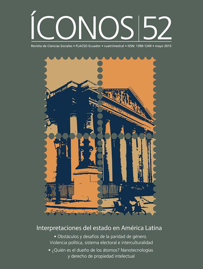 Íconos. Revista de Ciencias Sociales No. 52. Interpretaciones del estado en América Latina