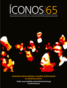 Íconos No. 65. Controles democráticos y cambio institucional en América Latina