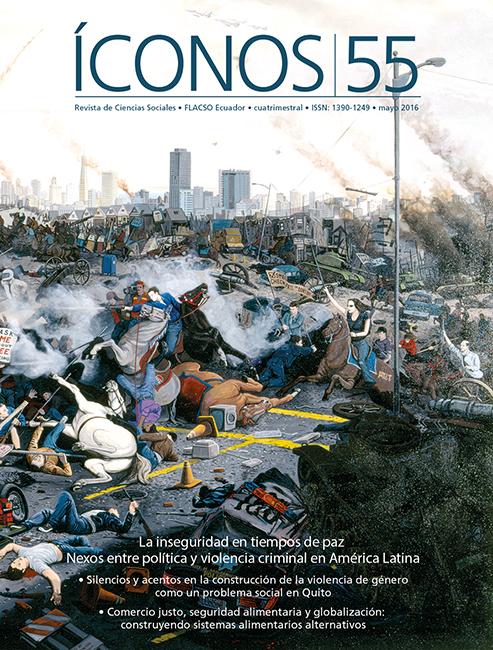 Íconos No. 55. La inseguridad en tiempos de paz. Nexos entre política y violencia criminal en América Latina
