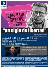 Seminario de investigación Jean Paul Sartre 'Un siglo de libertad'