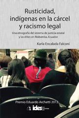 Presentación libro  'Rusticidad, indígenas en la cárcel y racismo legal'