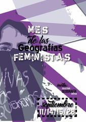 Panel  Situadas en el territorio: metodologías de geografía feminista