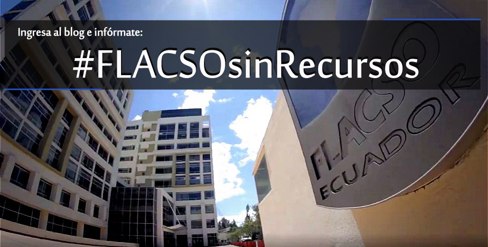 #FLACSOsinRecursos
