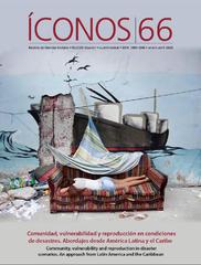 Presentación Íconos No. 66 | Comunidad, vulnerabilidad y reproducción en condiciones de desastre