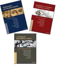 Presentación de los tres volúmenes de la serie: economía y territorio