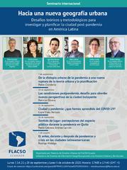 Seminario internacional: Hacia una nueva geografía urbana