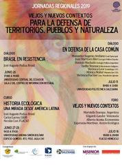 Jornadas regionales Defensa de territorios, pueblos y naturaleza