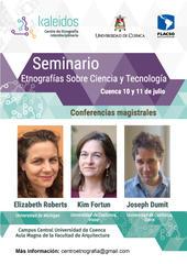 Seminario en Cuenca: Etnografías sobre ciencia y tecnología