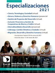 Reunión informativa Especializaciones 2021