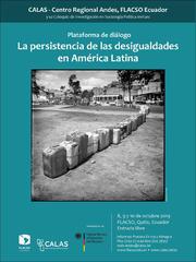 Coloquio de investigación Plataforma de diálogo La persistencia de las desigualdades en A.L.
