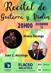 Recital de guitarra y violín