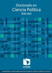 Reunión informativa  Doctorado en Ciencia Política 2018-2021